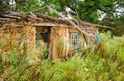 Casa abandonada vieja Foto de archivo