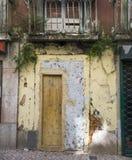 Casa abandonada vieja en Lisboa Imágenes de archivo libres de regalías