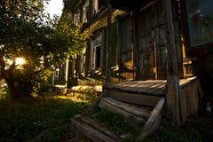 Casa abbandonata Fotografia Stock