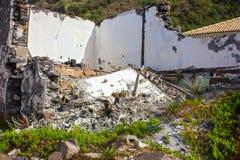 Casa abbandonata Immagine Stock Libera da Diritti
