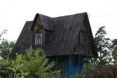 Casa abbandonata buio immagini stock libere da diritti