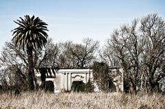 Casa abbandonata dell'azienda agricola Fotografia Stock Libera da Diritti