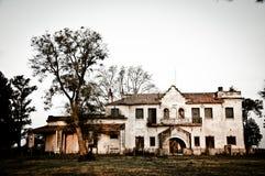 Casa abbandonata dell'azienda agricola Immagine Stock