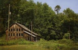 Casa abbandonata della montagna Immagini Stock Libere da Diritti