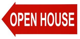 Casa aberta. Fotos de Stock