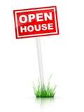 Casa abierta stock de ilustración