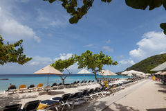 Casa Abou Beach Arkivfoto