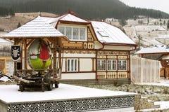 Casa adornada foto de archivo libre de regalías