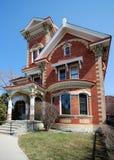 Casa adornada del Victorian Foto de archivo libre de regalías