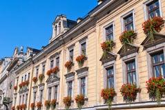 Casa in affitto a Cracovia Fotografia Stock Libera da Diritti