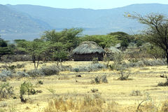 Casa africana Fotografia Stock Libera da Diritti