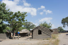 Casa africana Fotografie Stock