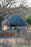 Casa africana de la aldea Foto de archivo libre de regalías