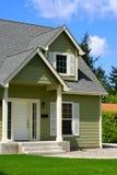 Casa agradable Fotografía de archivo libre de regalías