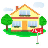 Casa agradable para la venta Fotos de archivo