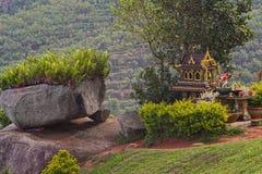 Casa al aire libre del alcohol en Phuket, Tailandia Montañas Foto de archivo