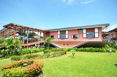 Casa al revés en Tamparuli, Sabah Imagen de archivo libre de regalías