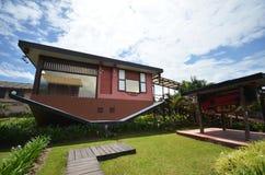 Casa al revés en Tamparuli, Sabah Imagen de archivo