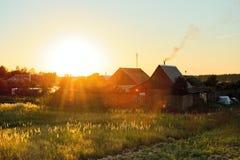 Casa al sole Fotografie Stock Libere da Diritti