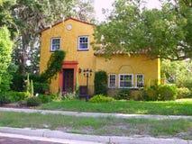 Casa alaranjada Imagem de Stock Royalty Free