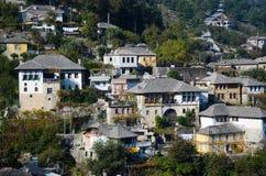 Casa albanese tradizionale Immagini Stock Libere da Diritti