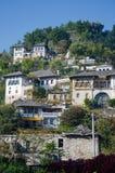 Casa albanese tradizionale Fotografia Stock