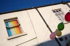 Casa alegre Imágenes de archivo libres de regalías