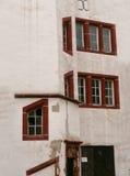 Casa alemana del exterior Foto de archivo libre de regalías
