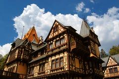 Casa alemana tradicional Fotografía de archivo libre de regalías
