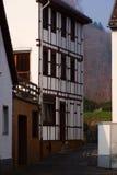 Casa alemana tradicional imagen de archivo