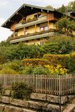 Casa alpina pittoresca Berchtesgaden germany Immagine Stock Libera da Diritti