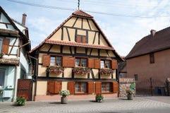 Casa Alsatian Fotografia Stock
