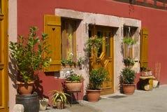 Casa alsatian tradicional Fotos de archivo libres de regalías