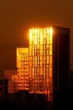 Casa alta com o brilho Fotografia de Stock