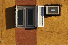 Casa amarela Imagens de Stock