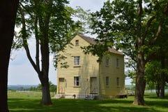 Casa amarilla pacífica Imagen de archivo libre de regalías
