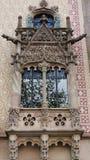 Casa Amatlle στη Βαρκελώνη Ισπανία Στοκ εικόνα με δικαίωμα ελεύθερης χρήσης