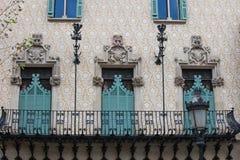 Casa Amatller Zdjęcia Royalty Free