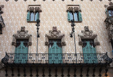 Casa Amatller. Barcelona. Royalty Free Stock Photography