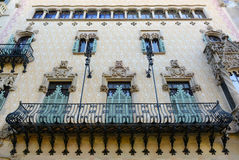 Casa Amatller, Barcelona, Spain Stock Images