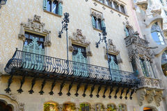 Casa Amatller, Barcelona, Spain Stock Photography