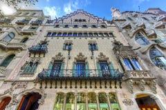 Casa Amatller - Barcelona, Spain Stock Photo