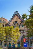 Casa Amatller in block of Discord in Eixample in Barcelona Stock Images