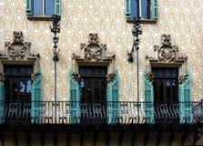 Casa Amatller, Royalty Free Stock Image