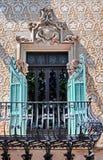 Casa Amatller di architettura di Barcellona Immagine Stock Libera da Diritti