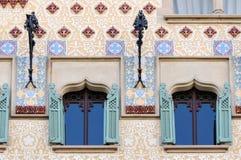 Casa Amatller facade designed by Josep Puig i Cadafalch Stock Image