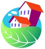 Casa ambiental Foto de Stock Royalty Free