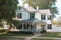 Casa americana immagine stock
