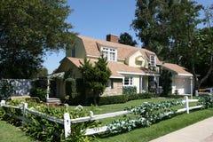 Casa americana del estilo Foto de archivo