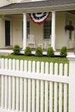 Casa americana el Memorial Day Imagenes de archivo